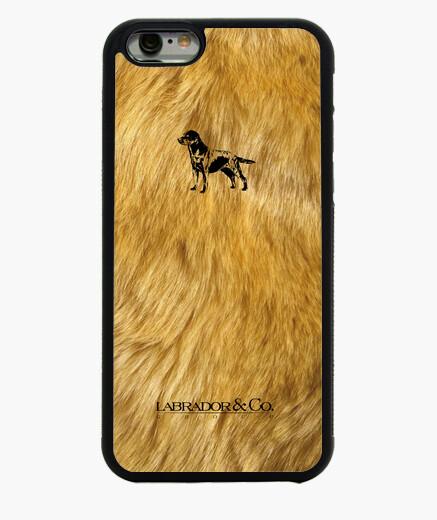 Funda iPhone 6 / 6S labrador y co.® - cubrir la piel negro