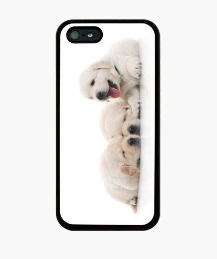 Funda iPhone Labradores Cachorritos