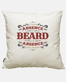 l'absence de barbe