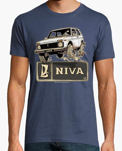 Camiseta LADA NIVA BLANCO