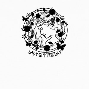 Camisetas Lady butterflay