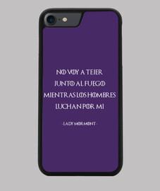 Lady Mormont - Juego de Tronos B - Funda iPhone 7 - 8