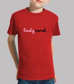 lady nerd / geek gaming gamer