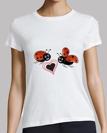 ladybird avec le coeur