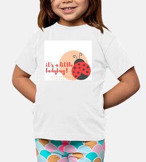 ladybug niño,Niño, manga corta, blanco