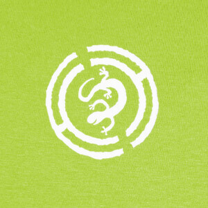 Tee-shirts lagarto blanco