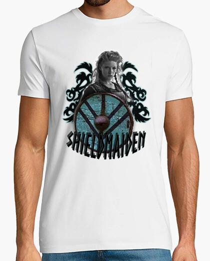 Camiseta Lagertha Shieldmaiden-Vikingos