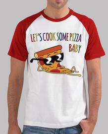 laisse cuire une pizza ...