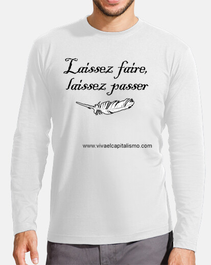 Camiseta Laissez faire CHICO