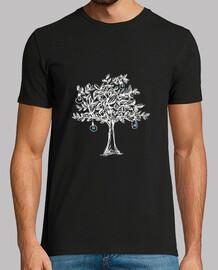 l'albero luminoso, versione bianca.
