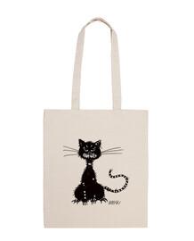 lambeaux mal chat noir