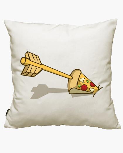Housse de coussin l'amour à première pizza