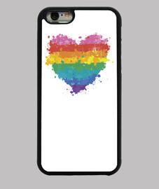 l'amour est l'amour - couverture de l'iphone 6