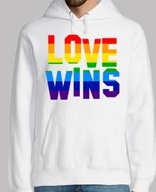 l'amour gagne (sweat-shirt)