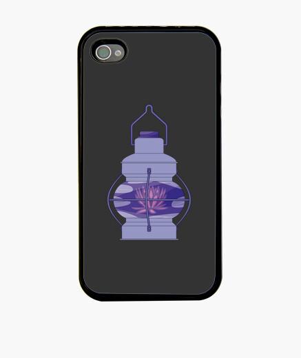 Funda iPhone Lampara de Flor de Loto