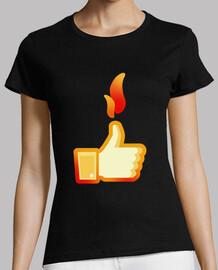 lance le feu sur le jeu, facebook aime 2