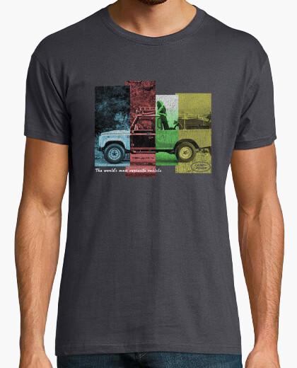 Camiseta land rover
