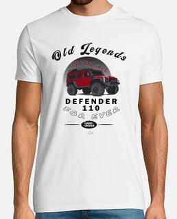 Land Rover Defender Old Legends
