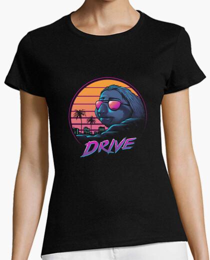T-Shirt langsame fahrt shirt damen