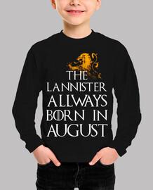Lannister Born in August niños