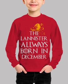 Lannister Born in December niños