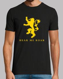 Lannister Hear me roar - MC chico