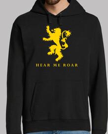 Lannister Hear me roar - Sudadera chico