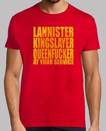 lannister, régicide, queenfucker ... à votre service