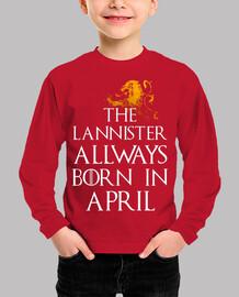 Lannister Siempre nacen en Abril niños