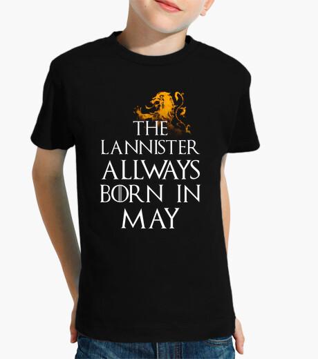 Ropa infantil Lannister Siempre nacen en Mayo niños
