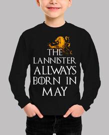 Lannister Siempre nacen en Mayo niños