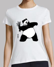 lanzador de bambú para mujer blanca
