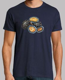 Lapas Mariscos Camiseta hombre