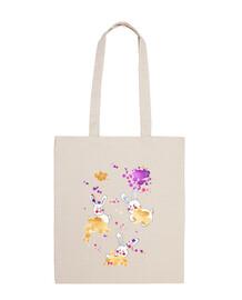 lapins sacs à main poignée courte