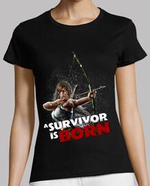 Lara Reborn - Camiseta chica