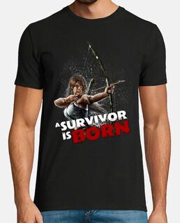lara reborn - shirt homme