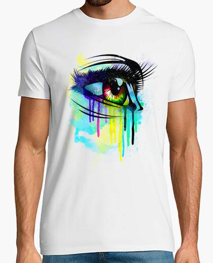 Tee-shirt larmes de couleurs