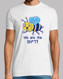 las abejas son la camisa para hombre
