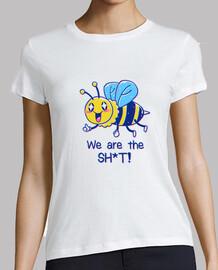 las abejas son la camisa sht para mujer