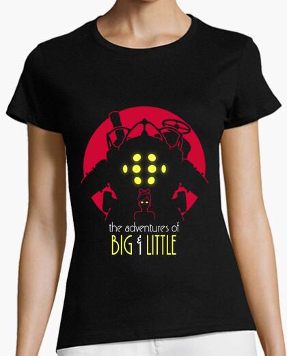 Camiseta las aventuras de grande y pequeño