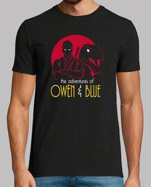 las aventuras de owen y azul