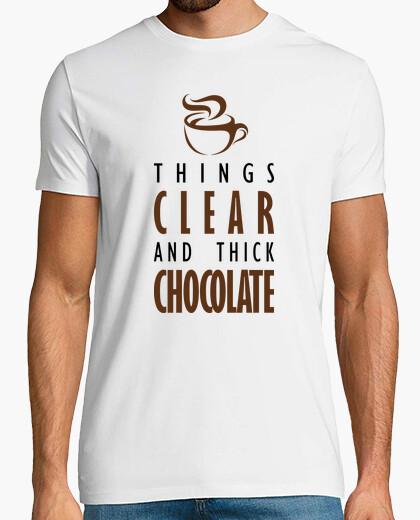 Camiseta Las cosas claras y el chocolate espeso