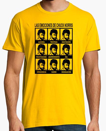 Camiseta Las Emociones de Chuck Norris