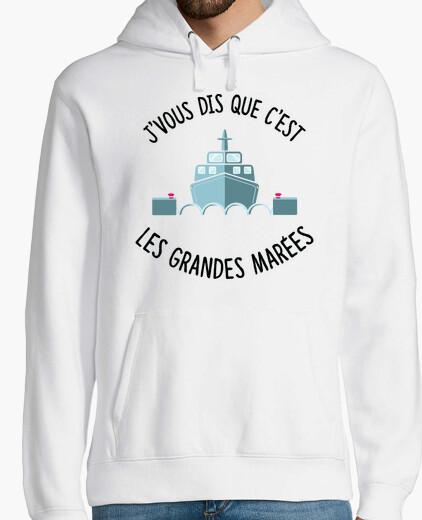 Jersey Las grandes mareas francesas se confund