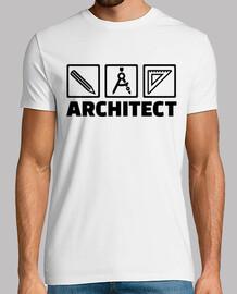 las herramientas del arquitecto brújula