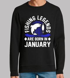 las leyendas de la pesca nacen en enero