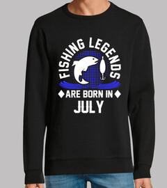 las leyendas de la pesca nacen en julio
