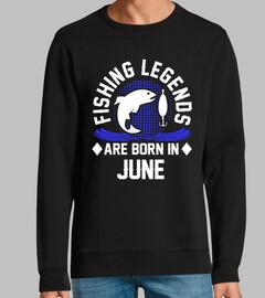 las leyendas de la pesca nacen en junio