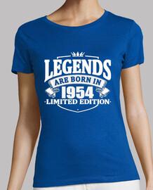 las leyendas nacen en 1954