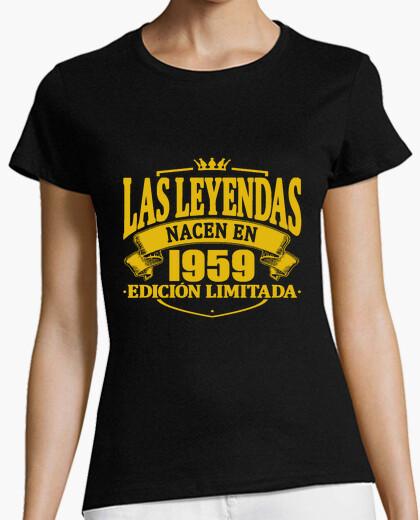Camiseta las leyendas nacen en 1959